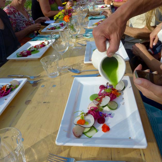 Te Gekke Etentjes - bietje kleurrijke salade