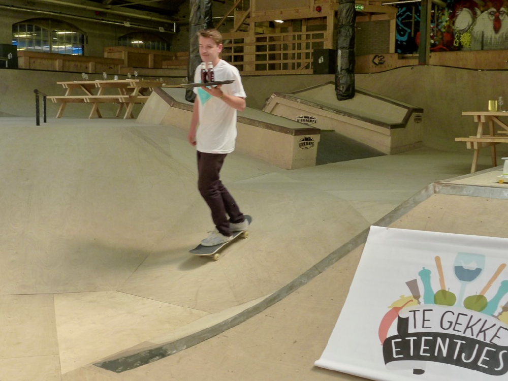 Skatepark borrel