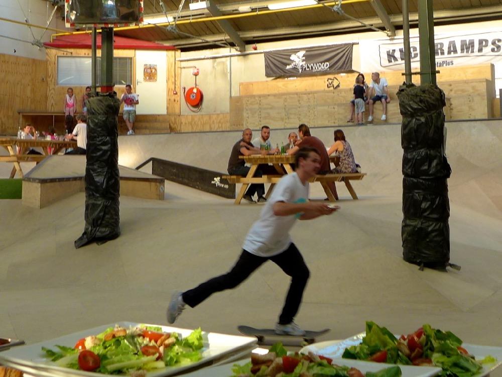 Skatepark dinner