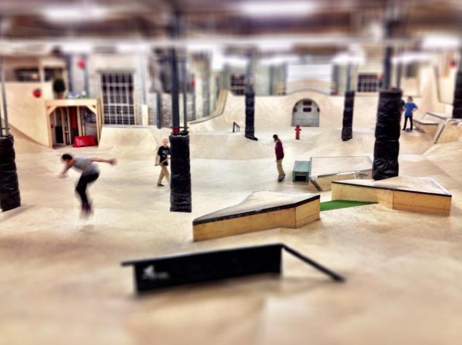 skatepark 910 bij 680 - Te gekke uitjes voor groepen in Tilburg