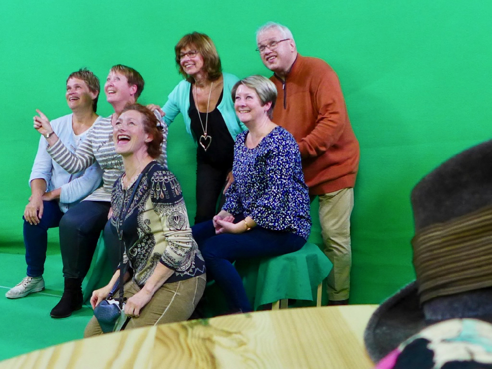 Green screen workshop